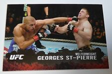 Georges St-Pierre UFC 2009 Topps Round 2 Silver Card #100 GSP #/d 183/188 79 65