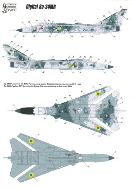 Trumpeter 01672 1//72 Su-24MR Fencer-E
