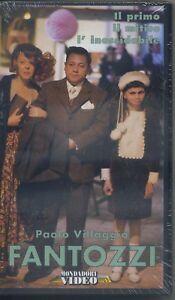 PAOLO-VILLAGGIO-FANTOZZI-mondatori-VHS-NUOVA