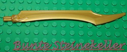NINJAGO 1 goldene Klinge 2x14 in gold /& NEU ! Waffe SB05-01
