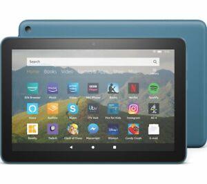 AMAZON Fire HD 8 Tablet (2020) - 32 GB Blue - Currys