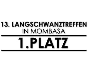 Autoaufkleber-Langschwanztreffen-Mombasa-Auszeichnung-Urkunde-Neu-decal-24-8406