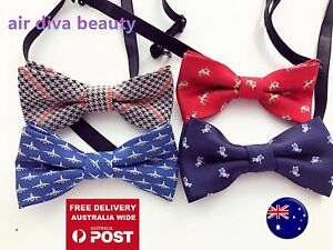 AU-Boys-Kids-Children-Party-Pre-tied-Wedding-Dance-Silk-bow-tie-Necktie-bowtie