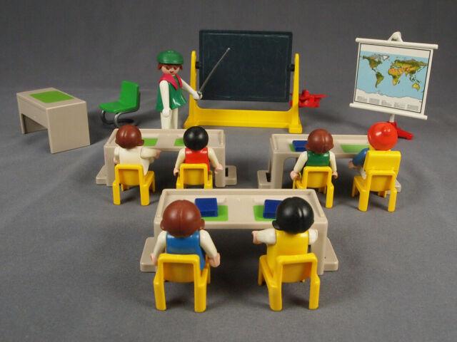 Playmobil 3084 Vintage Classroom, Teacher, Kids | eBay