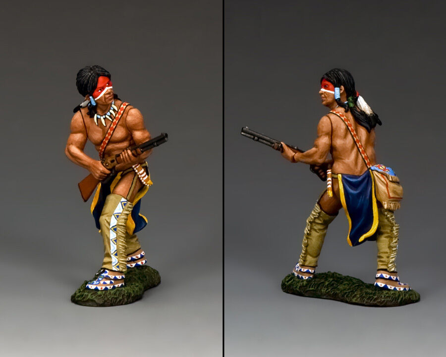 King & Country Plains Indian  Winchester Warrior  TRW068(P) Custers Last Stand