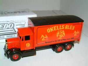 LLEDO-SCAMMELL-BOX-WAGON-OKELLS-ALES-ISLE-ON-MAN-PROMOTIONAL-MODEL