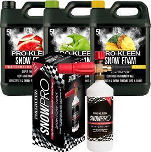 ProKleen-Car-Shampoo-Snow-Foam-Wash-Wax-Lance-Gun-15L-Auto-Karcher-Compatible
