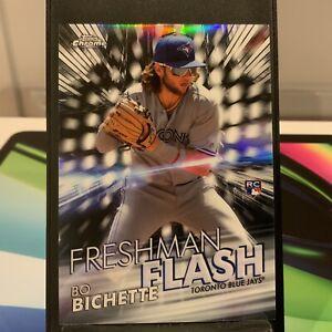 2020 Bo Bichette Topps Chrome Freshman Flash Rookie RC #FF-1 Blue Jays