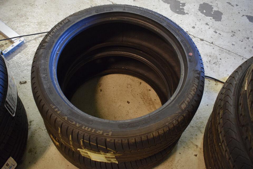 Ubrugte Michelin 215/45R17 sommerdæk (456)