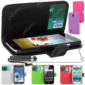Housse-Coque-Cuir-Portefeuille-Samsung-Galaxy-S5-G900-S4-I9500-S3-I9300-Ace-2-3
