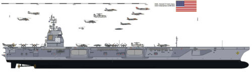 USS GERALD R FORD CV CVN-78 PATCH US NAVY VETERAN PIN UP GIFT PRESIDENT USA WOW