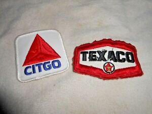 VINTAGE AMOCO OIL /& GAS SERVICE STATION ATTENDANT UNIFORM PATCH ~ NR
