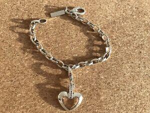 Details zu Jette Joop Armband Silber mit Charm, Länge 19 cm