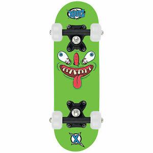 Xootz-Skateboard-Mini-17-034-Green-Monster-Small-Board