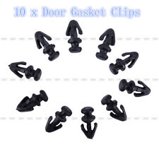 10X Door Gasket Sill Sealing Clips Lower Weatherstrip For Ford Mondeo MK2/ 3/ 4
