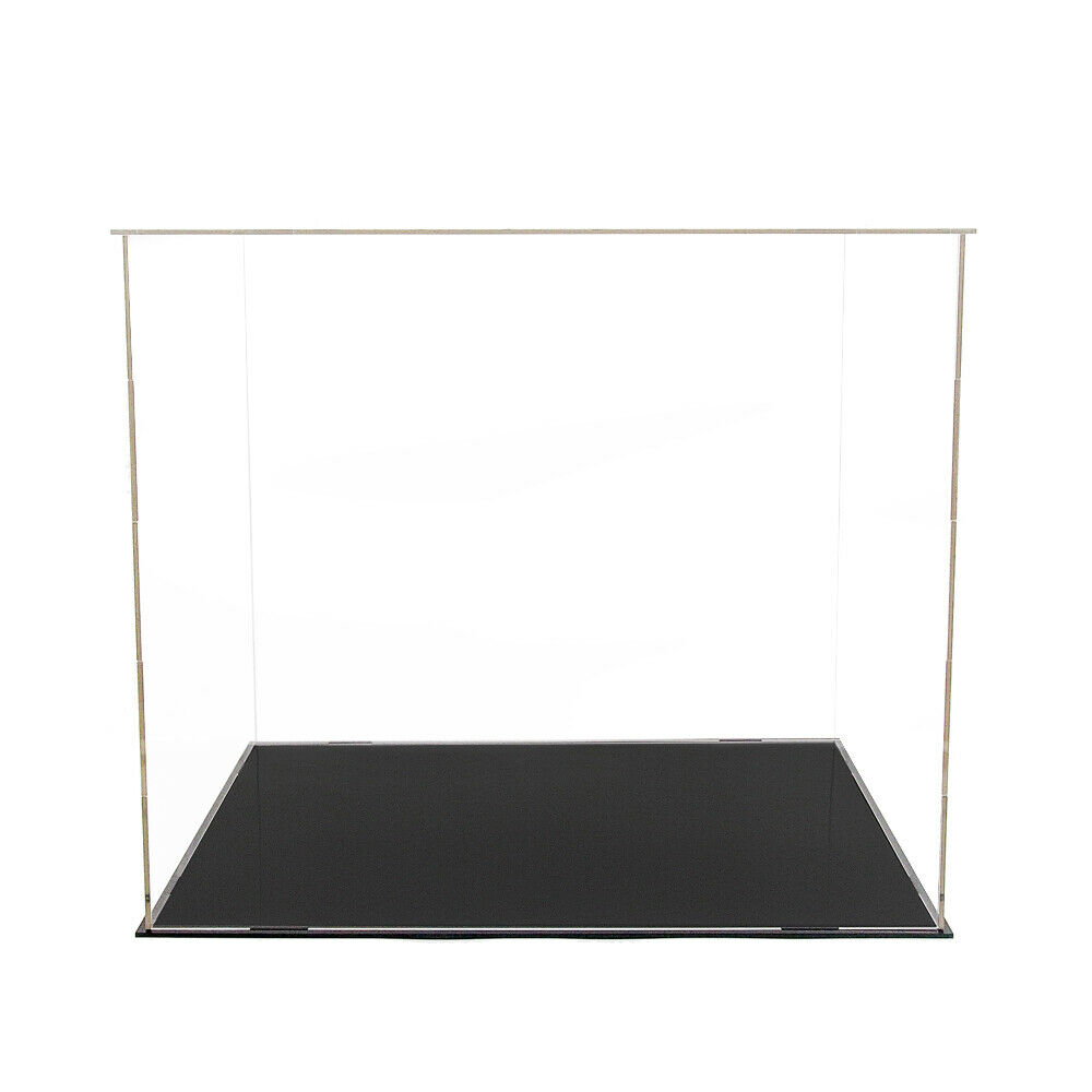 40cm Large Acrylic Plastic Display Box Perspex Case Self-Assembly Dustproof