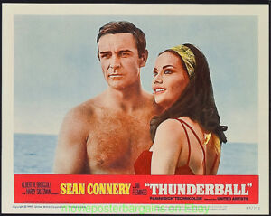THUNDERBALL-Lobby-Card-Size-11-by-14-Movie-Poster-C-2-JAMES-BOND-SEAN-CONNERY