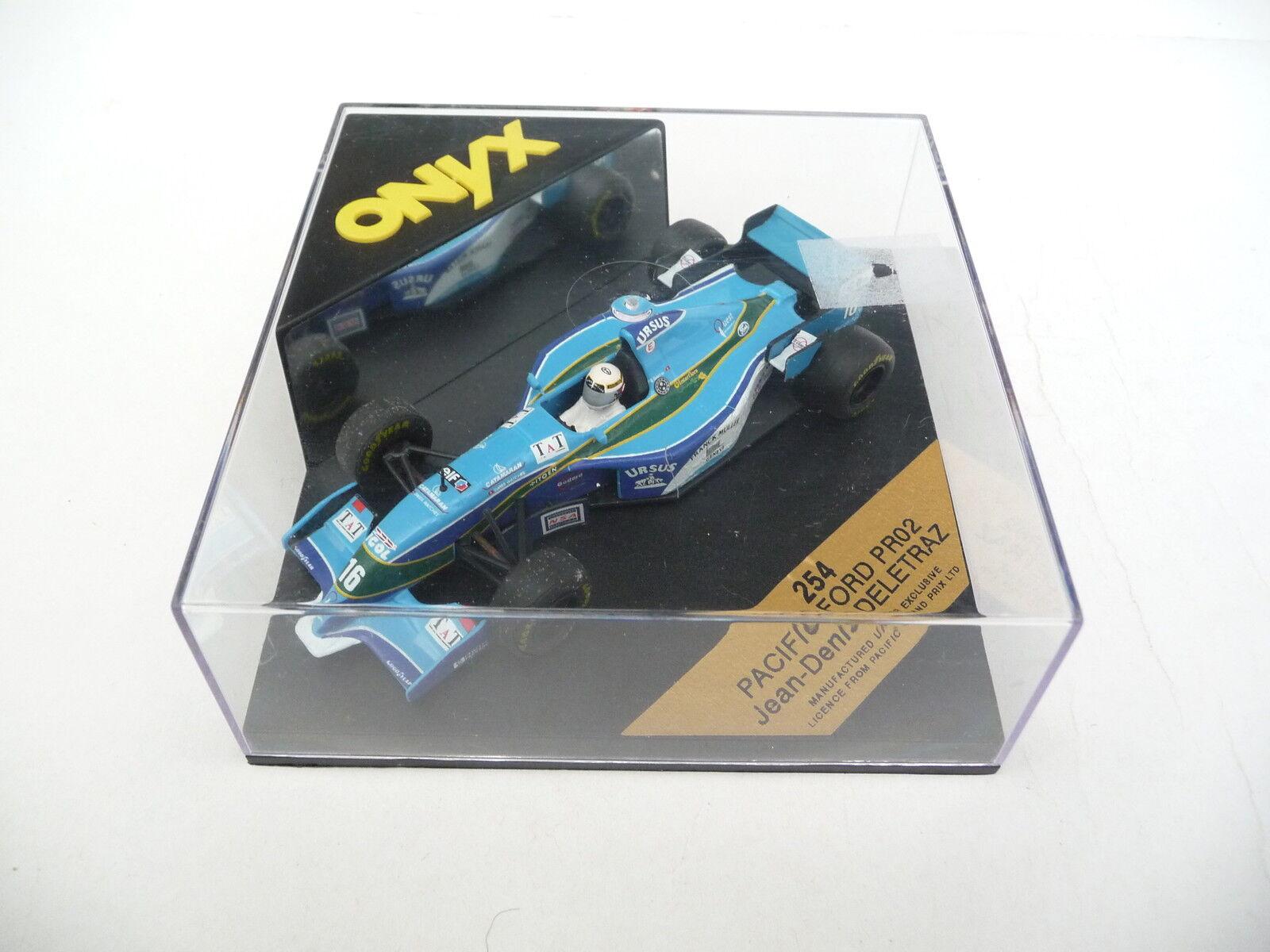 Onyx 1 43 Pacific Ford PR02 Deletraz 254