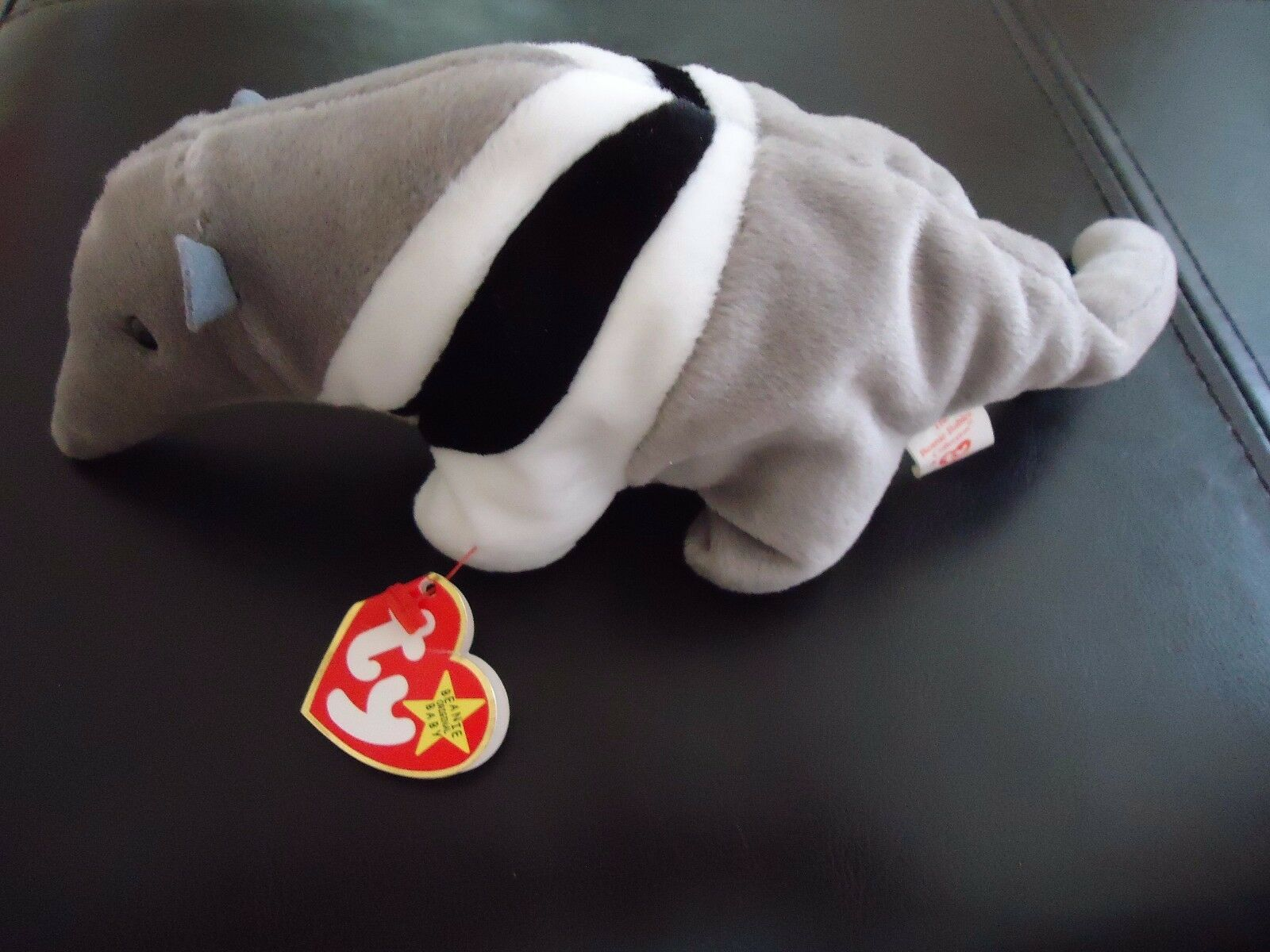 TY Beanie Baby Ants the Ant Eater 1997 1998 Error Tags Rare Retired