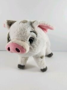 Disney-Store-Authentic-Genuine-Original-Moana-Pua-Pig-Plush-9-034-Stuffed-Animal