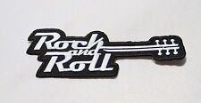 Rock`N Roll,Patch,Aufnäher,Aufbügler,Badge,Gitarre,Hard Rock,Rockabilly