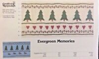 Creative Keepsakes Smocking Plate 034-evergreen Memories