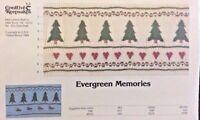 Creative Keepsakes Smocking Plate 034-evergreen Memories