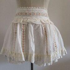 LIZ LISA Sukapan skirt with inner shorts Mini Lace Ribbon Kawaii Japanese Gyaru