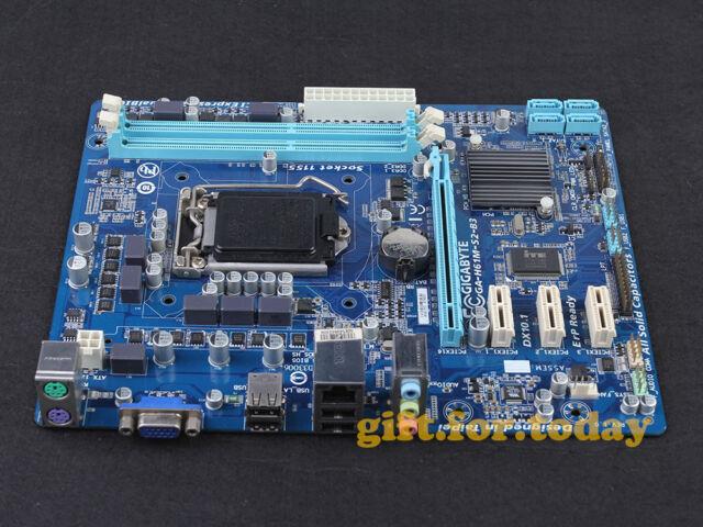 GIGABYTE GA-H61M-S2-B3 LGA 1155 Intel H61 Chipset DDR3 mATX Motherboard With I/O