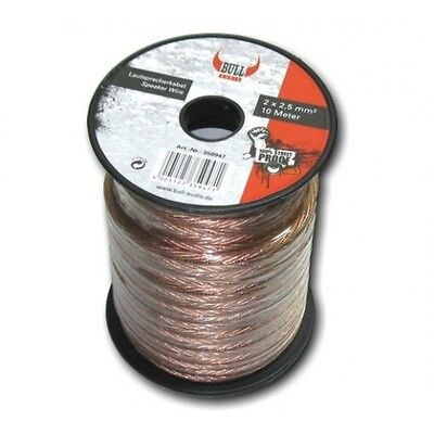 Dietz 23168 10 Meter Lautsprecher Kabel 2x2,5mm² Lautsprecherkabel