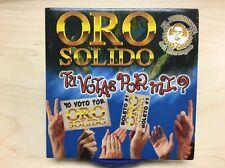 Tu Votas Por Mi by Oro Solido, El Presidente Del Merengue (CD 2000) PROMO ***