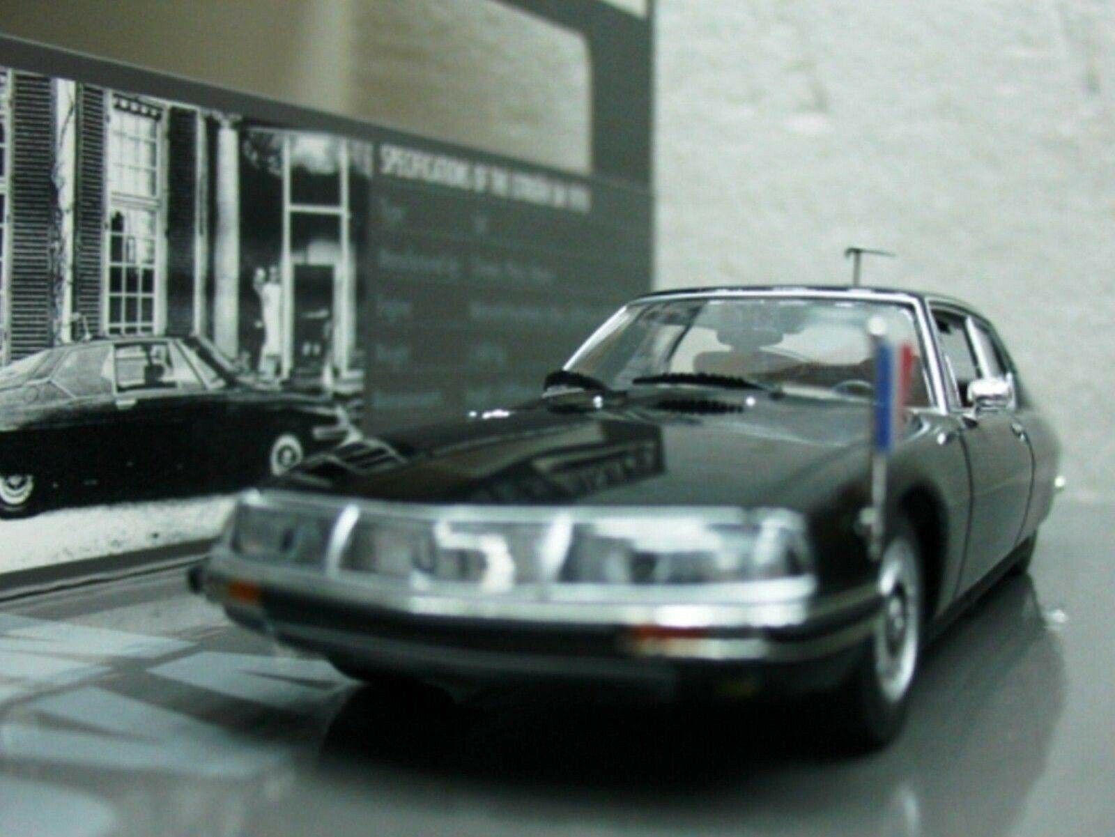 WOW EXTREMELY RARE Citroen SM V6 French Ambassador W Germany 1 43 Minichamps-CX