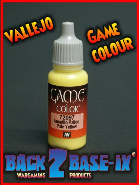 Vallejo Game Color Acrylic Paint 17ml Pale Yellow 72097