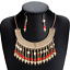 Bohemia-Women-Choker-Chunky-Statement-Bib-Alloy-Charm-Pendant-Necklace-Jewelry thumbnail 86
