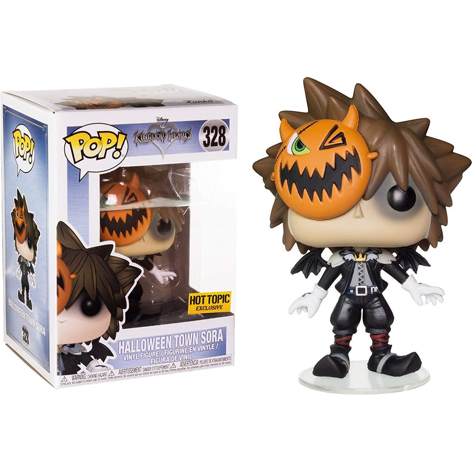 Funko Pop  Kingdom Hearts Halloween Town Sora Exclusive
