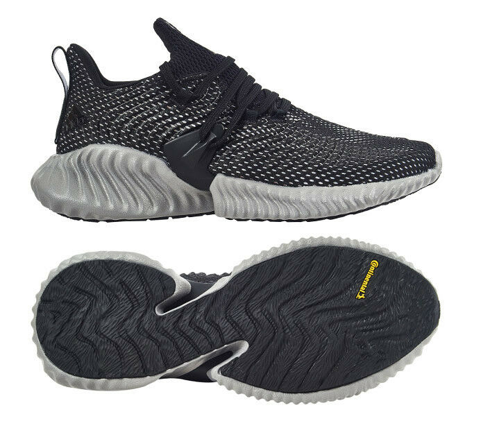 Adidas Men's AlphaBOUNCE Instinct Running shoes Black Walking Casual NWT BC0626