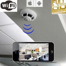 UFO P2P IP Camera Wifi Wireless Spy Hidden Smoke Detector Camcorder IOS Andriod