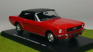 collection auto vintage hachette ford mustang convertible 1 24 me ebay. Black Bedroom Furniture Sets. Home Design Ideas