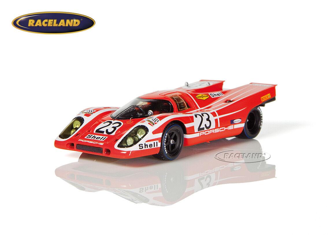 Porsche 917k PORSCHE Salzbourg vainqueur Le Mans 1970 Herrmann Attwood, SPARK 1 43
