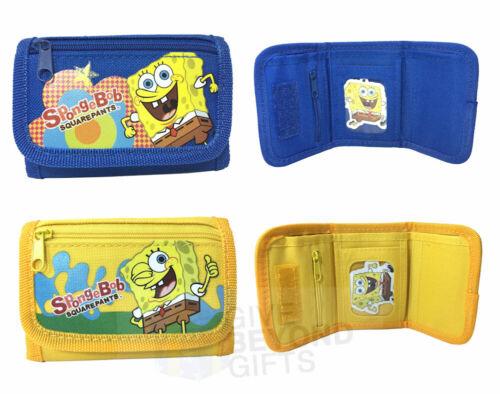 Sponge Bob Square Pants Set of 2 Tri-Fold Kids Mini Wallet Back to School Supply