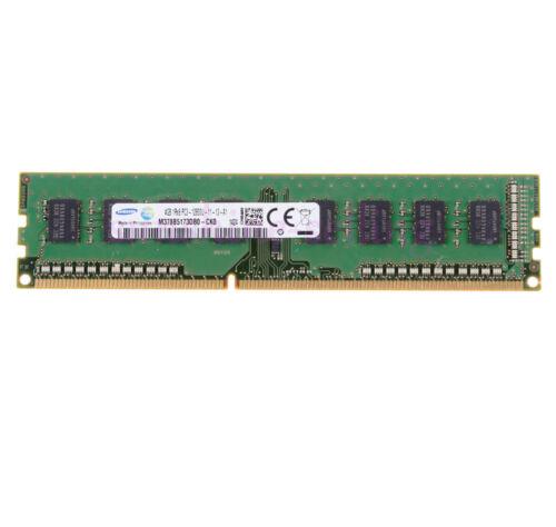 For Samsung 4GB 1Rx8 PC3-12800U DDR3 1600Mhz 240Pin Desktop Memory RAM DIMM CL11