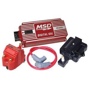 msd ignition 85001 super hei kit with digital 6al ebay. Black Bedroom Furniture Sets. Home Design Ideas