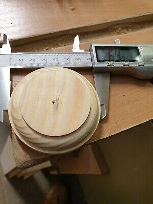 Ceiling Rose Mount 19mm Base sconce Wall Bracket Pattress 90mm Oak Period
