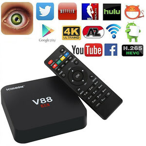 Android 5.1 Smart TV Box V88 RK3229 4K Quad Core 16.1 8GB WiFi DLNA Mini PC N6 - <span itemprop='availableAtOrFrom'>Frankfurt, Deutschland</span> - Android 5.1 Smart TV Box V88 RK3229 4K Quad Core 16.1 8GB WiFi DLNA Mini PC N6 - Frankfurt, Deutschland