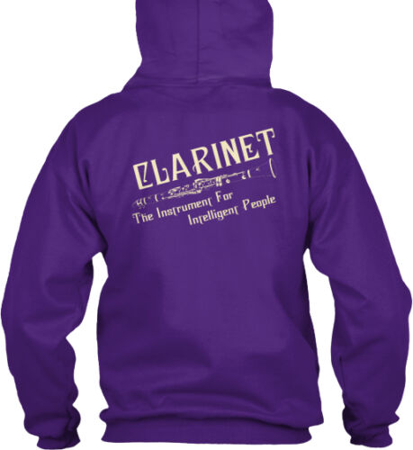 Clarinet For Intelligent People The Instrument Gildan Hoodie Sweatshirt