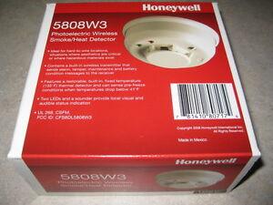 honeywell 5808w3 wireless smoke heat detector lynx plus. Black Bedroom Furniture Sets. Home Design Ideas