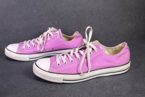 Cb533 converse All Star Classic Chucks Ox low-Top cortos talla 44 canvas lila