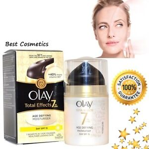 New-Olay-Total-Effects-7-in-One-Age-Defying-Moisturiser-37ml-Day-Cream-SPF15