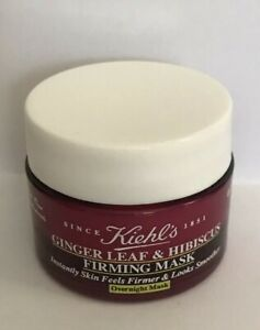 KIEHL-039-S-GINGER-LEAF-amp-HIBISCUIS-FIRMING-MASK-5-OZ-IDEAL-FOR-TRAVEL-FREE-SHIP