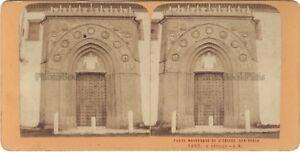 Seville Eglise San Pablo Spagna Foto J.Andrieu Stereo Vintage c1870